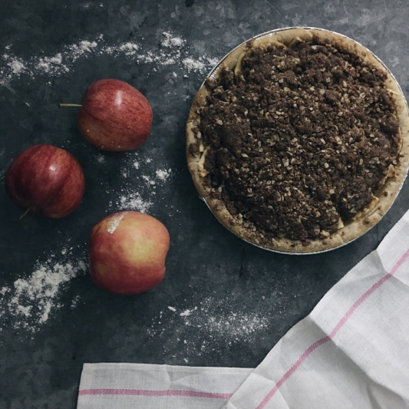 Wholly Wholesome Apple Crisp Pie
